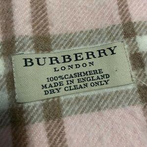 Burberry Genuine 100% Cashmere Scarf